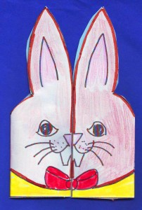 boy bunny card