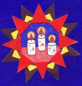 C.4. Star with candles